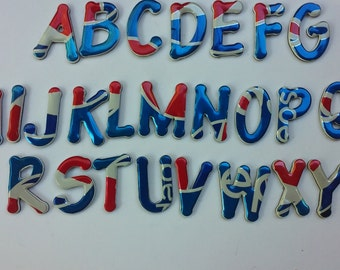 Pepsi Alphabet Magnetic Letters  Recycled Can Complete Set