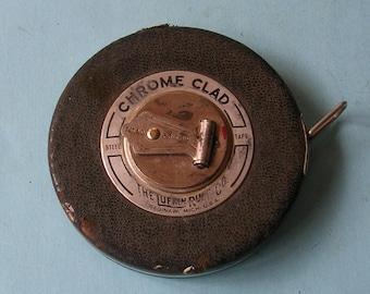 Vintage Lufkin Tape Measure Steel Tape Measure