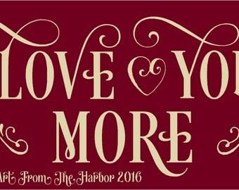 Primitive Stencil Love You More