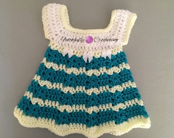 Newborn sundress... Baby dress... New baby.. Baby shower.. Spring dress.. Ready to ship
