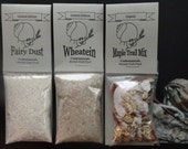 Hermit Crab Wheatein Fairy Dust Maple Trail Mix All-natural hermit crab pet food 3 pack
