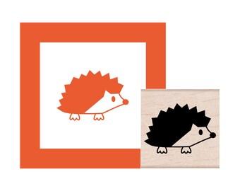 Hedgehog Rubber Stamp