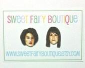 Abbi and Ilana - Broad City - stud earrings