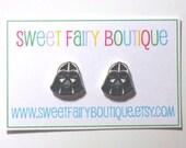 Darth Vader - Star Wars - stud earrings
