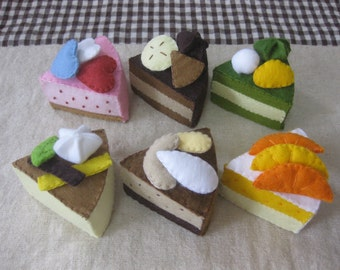 Felt cake collection