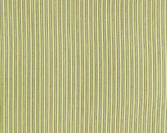 Denyse Schmidt Fabric by the Yard - Florence - Texture Stripe in Malachite - Quilter's Cotton