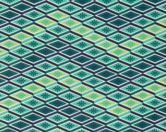 Tula Pink Fabric by the Yard - Eden - Labyrinth in Sprout - Quilter's Cotton