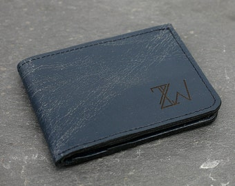 ZW Billfold made from the interior of a 1980's Mercedes 300E