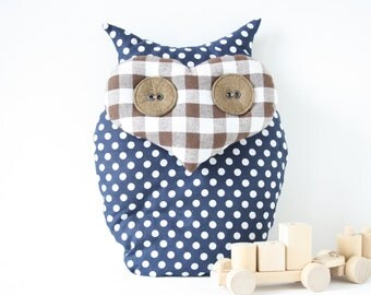 How to make an owl - pattern and tutorial PDF