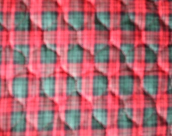 Reversible Christmas quilted