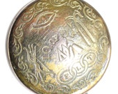 Scarce ~ Metal Independent Order of Odd Fellows (IOOF) Friendship, Loyalty and Trust - Medium