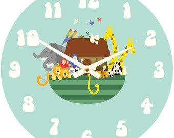 Noah's Ark Clock