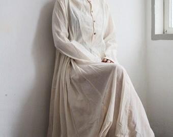 Arabella Dress....100% cotton chic ,Boho ,maxi dress