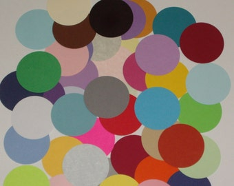 "500 Die Cut 2"" Circles for Scrapbooking, Embellishments, Tags, and Party Supplies"