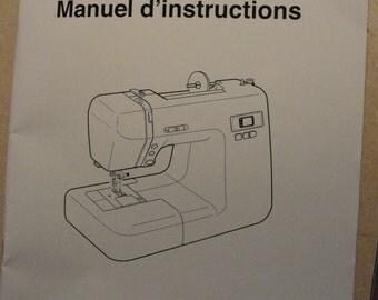 Janome Sewing machine instruction manual DC2010 like new