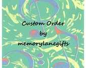 Reserved listing for justamarshmallow