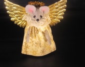 Felt Angel Mouse