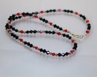 Swarovski Crystal Jewelry -  Crystal Necklace - Available in Several Colors
