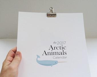 2017 Arctic Animals Calendar