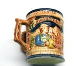 Vintage Double Handled Lego Kissing Stein