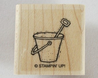 Stampin Up! - Sand Pail Rubber Stamp #RS195