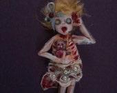 Ooak Autopsy girl ornament