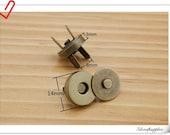 14mm anti gold  Magnetic Snaps Per Bag of 20 Sets Magnetic Fastener   F2