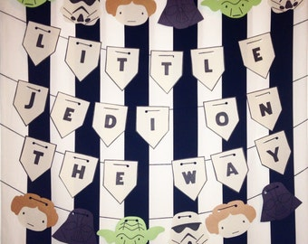 Little Jedi On The Way Baby Shower Party Package