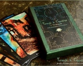 Tarocchi di connessione - Tarot deck by Vocisconnesse - Major Arcana - in moss GREEN box
