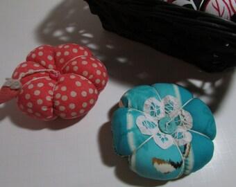Fancy Fabrics Pin Cushion, choice, 4-5 inch finished size