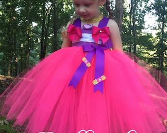 Doc McStuffins Inspired Tutu Dress - Doc McStuffins Costume - Doc McStuffins Dress