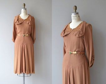 Gingembre dress | vintage 1940s dress | rayon 40s dress