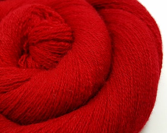 Recycled Cashmere Yarn - Lace - Recycled Yarn - Ruby Slipper 280216