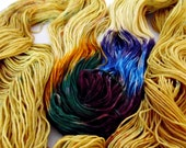 WTF - Variegated - Hand Dyed SW Merino Sport Weight Yarn - Dyelectable Sport
