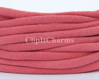 Wholesale .39+ Watermelon Stretch Nylon Chokers...Use for bottle cap jewelry,pendants,charms, headbands/doubles as a bracelet or anklet....