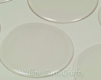 "25 Pack 1 1/2""  Circle Clear Epoxy Domes Circle Resin Stickers (01-05-190)"