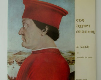 Vintage Uffizi Gallery Florence Italy Collectible LP Record Album & Slides by Gloria Art