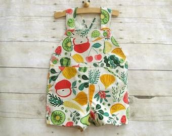 Shortall in Linen Spring Vegetables