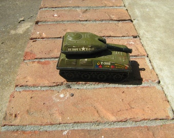 Buddy L Japan metal toy  T-308 tank