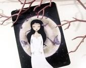 30% Off Halloween Sale - Fluttering Dreams (Rêves flottants) - Carte Postale