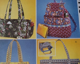 McCalls Fashion Accessories 4118 Misses Handbags (uncut)