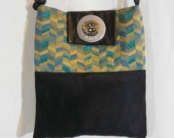 2 Tone Cross-Body Messenger Bag  FREE SHIPPING!