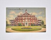 St. Vincent's Hospital Birmingham Alabama Postcard