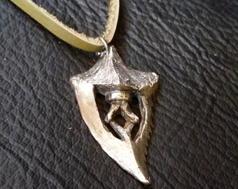 Iron Bull's Dragon Tooth in Solid Silver