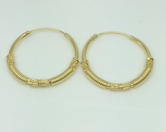 Starburst coil hoop earrings,  extra large men's hoop earrings, big wire hoop earrings, big hoop earrings, men's earrings, 559C