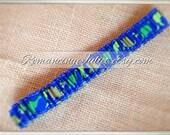 Dainty Dinos Bridal Garter...Custom (Optional) Bow Colors Available..