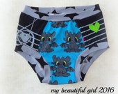 Size 5/6 Musical Dragons Underwear - INSTOCK