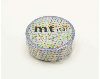 mt ex half tone - washi masking tape - 15mm x 10m x 1 roll