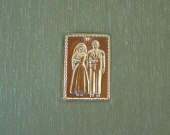 Photo album - Man and Woman wedding milagro - Santa Fe destination wedding - sage cloth -50 pages - 6x8in 15x20.5cm - Ready to ship