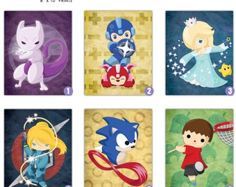 Smash New Characters 8x10 Prints